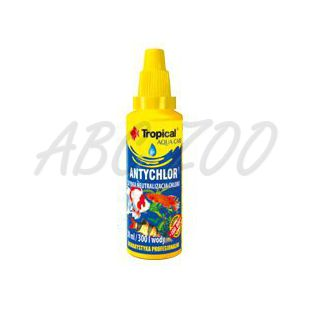 TROPICAL Antychlor 50 ml / 500 L víz kondicionáló