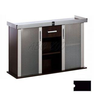 Akvárium alá szekrény MODERN 120x40x77 cm DIVERSA - fekete, egyenes