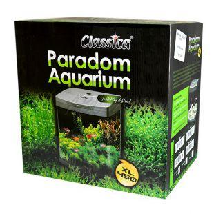 Akvárium CLASSICA PARADOM XL450 58L - ezüst, ovális
