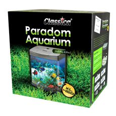Akvárium CLASSICA PARADOM XL450 58L - fekete, ovális