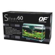Akvárium OF SILVER 60 - ezüst 60L