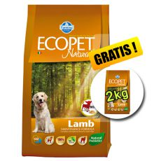 Farmina MO P ECOPET N dog LAMB MINI 12 + 2kg INGYEN