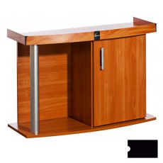 Akvárium szekrény DIVERSA Comfort 80x35x67 cm - ÍVES - FEKETE