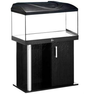 Akvárium komplett DIVERSA 112l - egyenes + COMFORT fekete állvány