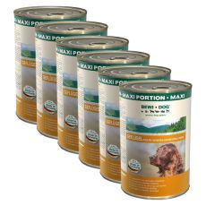 BEWI DOG, Baromfi -  6 x 1200 g konzerv