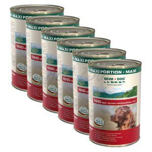 BEWI DOG, Marhahús - 6 x 1200 g konzerv