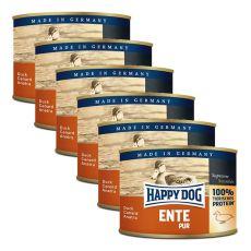 Happy Dog Pur - Ente/kacsa, 6 x 200g, 5+1 GRÁTISZ
