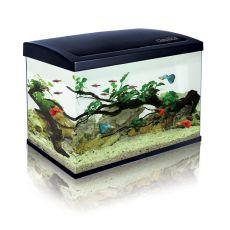 Akvárium CLASSICA ECO 60 LED világítással - fekete, 63L