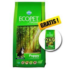 Farmina MO P ECOPET N dog PUPPY MAXI 12 kg + 2 kg INGYEN