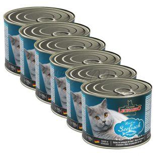 Konzerv cicák részére Leonardo - Hal, 6 x 200 g
