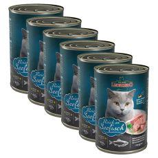 Konzerv cicáknak Leonardo - Hal 6 x 400 g