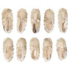 Jutalomfalat kutyáknak - cipő préselt bőrből kalciummal 12,5cm - 10 db