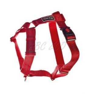 Kutyahám, nylon - piros, 62 - 100 cm