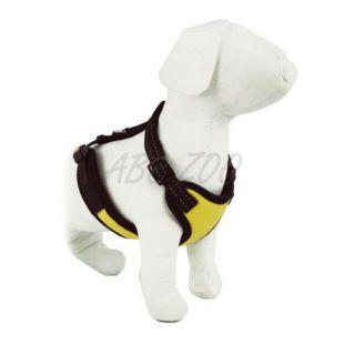Hám kutyáknak - vastag, sárga - S / 30 - 38