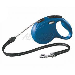 Flexi New Classic póráz M 20kg-ig, 5m zsinór - kék
