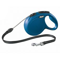 Flexi New Classic póráz M 20kg-ig, 8m zsinór - kék
