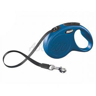 Flexi New Classic póráz M-L, 50 kg-ig, 5m szalag - kék