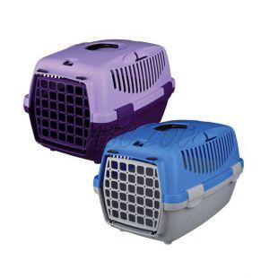 Hordláda kutyáknak Capri I - 32 x 31 x 48 cm - szürkés-kék