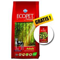 Farmina MO P ECOPET N dog ADULT MAXI 12 kg + 2 kg ajándék