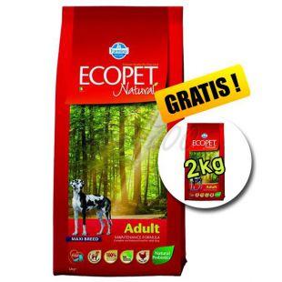 Farmina MO P ECOPET N dog ADULT MAXI 12 kg + 2 kg INGYEN