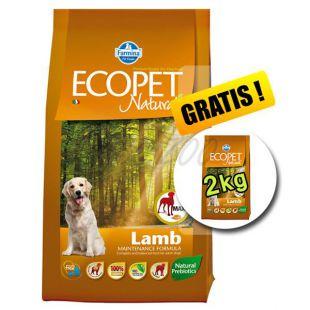 Farmina MO P ECOPET N dog LAMB MAXI 12 kg + 2 kg INGYEN