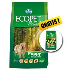 Farmina MO P ECOPET N dog PUPPY MEDIUM 12 kg + 2 kg ajándék