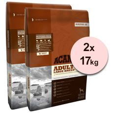 ACANA Heritage Adult Large Breed 2 x 17 kg