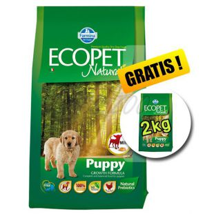 Farmina MO P ECOPET N dog PUPPY mini 12 kg + 2 kg INGYEN