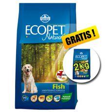 Farmina MO P ECOPET N dog FISH MINI 12 kg + 2 kg ajándék