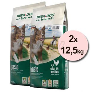 BEWI DOG BASIC 2 x 12,5kg