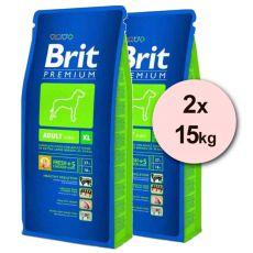 Brit Premium Adult XL 2 x 15kg