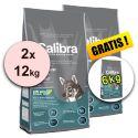 CALIBRA Premium Senior & Light 2 x 12 kg + 6 kg