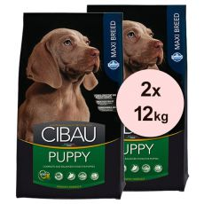 Farmina MO SP CIBAU dog PUPPY MAXI 2 x 12 kg