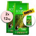 Farmina MO P ECOPET N dog PUPPY MAXI 2 x 12 kg + 4 kg ajándék