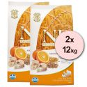Farmina N&D dog LG ADULT MAXI Codfish & Orange 2 x 12 kg