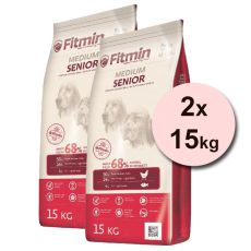 Fitmin MEDIUM Senior - 2 x 15 kg + INGYENES SZÁLLÍTÁS