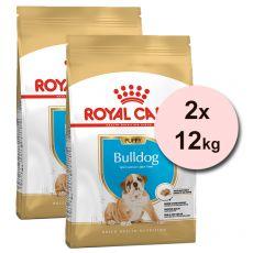ROYAL CANIN ANGOL BULDOG JUNIOR  - 2 x 12 kg