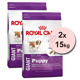 ROYAL CANIN GIANT PUPPY 2 x 15 kg