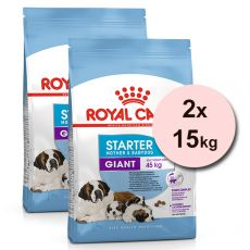 ROYAL CANIN GIANT STARTER M&B 2 x 15 kg