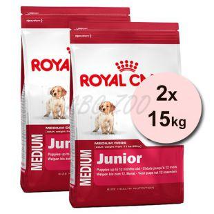 ROYAL CANIN MEDIUM JUNIOR 2 x 15 kg