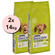 PURINA DOG CHOW ADULT Chicken 2 x 14 kg