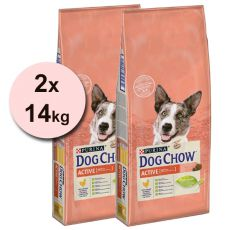 PURINA DOG CHOW Active 2 x 14 kg