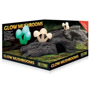 Exo Terra Glow Mushrooms - teráriumi dekoráció