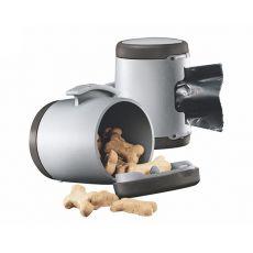 Flexi Vario Multi Box tároló, sötétszürke + hulladékzsákok