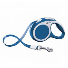 Flexi Vario XS póráz 12kg-ig, 3m szalag - kék