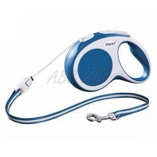 Flexi Vario S póráz 12kg-ig, 8m zsinór - kék