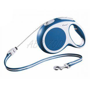 Flexi Vario póráz M 20kg-ig, 8m kötél - kék