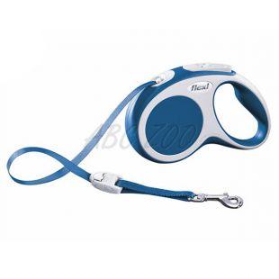 Flexi Vario S póráz 15kg-ig, 5m szalag - kék