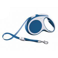 Flexi Vario M póráz 25kg-ig, 5m szalag - kék