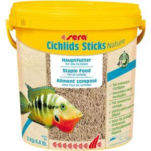 sera Cichlids Sticks Nature 10 L / 2 kg